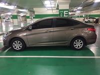 Used HYUNDAI ACCENT 2013 - 89,000km. New Tires And recently Re-registered. Not Under Loan - Ready To Sell in Dubai, UAE
