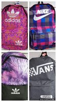 Used Bagpacks Bundle-Adidas/Nike/Vans 4pcs in Dubai, UAE