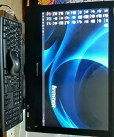 Used Lenovo all in one desktop 23 inch in Dubai, UAE
