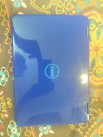 Used Dell Inspiron blue touch laptop in Dubai, UAE