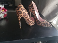 Used Leopard high heels in Dubai, UAE