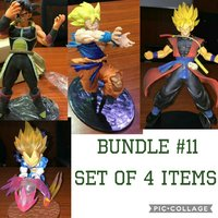 Used Dragonball Z set 2 collectible figures in Dubai, UAE