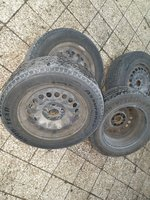 Used Tyres with Honda accord wheels and cups in Dubai, UAE