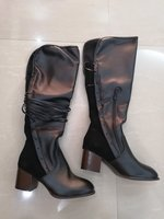 Used VINTAGE LACE UP BOOTS SIZE 37 NEW in Dubai, UAE