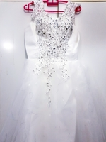 Bride wedding dress New