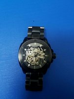 Used Fossil Men's Metal Black Skeleton Watch in Dubai, UAE