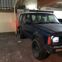 For sale Jeep Cherokee Model 1996 Ordinary gear color blue