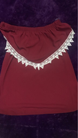 Off shoulder top size M