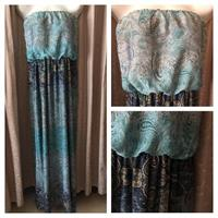 Long Mango Dress Size XL