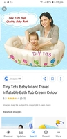 Used Inflatable Baby Bathtub Purchased Abroad in Dubai, UAE