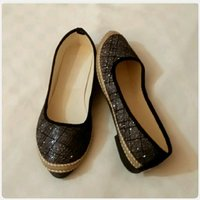 Black shiny shoes size-38