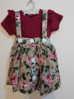 Baby girl's floral dress(1pc)