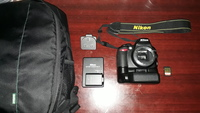 Used NIKON D3100 - Only Body and Accessiories in Dubai, UAE