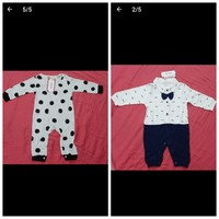 Used Baby boy dresses 2 pcs in Dubai, UAE