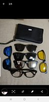 Used Magnetic SUNGLASSES & 5 Lenses New in Dubai, UAE