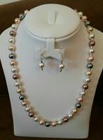 Used Brand New Handmade Silver Pearl Necklace in Dubai, UAE