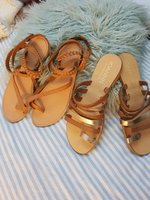 Used Hollister Open Shoes Leather Greece BOTH in Dubai, UAE