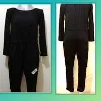 Used Full black jump suit suze M in Dubai, UAE