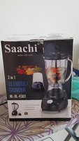 SAACHI 2 in 1: BLENDER/GRINDER 350 watts