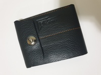 Used Atarix Leather Men Wallet, Black in Dubai, UAE