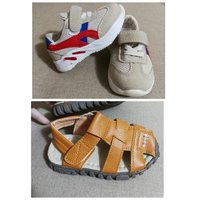 Used 2 baby boy shoes, size 15 and 25 in Dubai, UAE