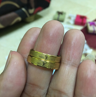 Ring LV Size 8and9 Is Very Nice 80 Dhs/1Ring
