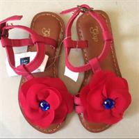 Gap Kids Poppy Flower Sandals. Size 27/ Age 4yrs. Brand New Still With Tags.