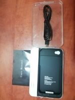 Power charger case for iphone 4S