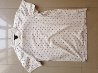 Used Scotch & Soda Shirt size XL WHITE in Dubai, UAE