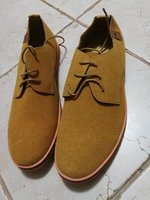 Used Khaki color men shoes size 43 in Dubai, UAE