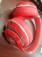 Used Beats studio headphones wired red in Dubai, UAE