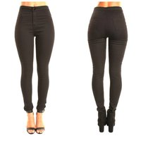 Used New stretchable black pants size S in Dubai, UAE