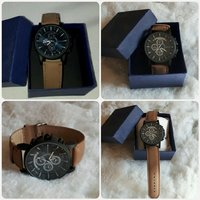 Men watch brown color New..