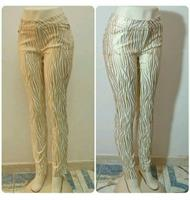 Used Long Pants Gold Color Available Sizes Ne in Dubai, UAE