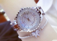 Used Bee Sister silver watch + bracelet in Dubai, UAE