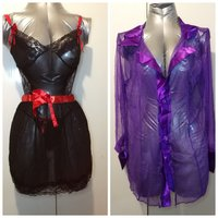 Used 2 pcs sexy night gowns for her in Dubai, UAE