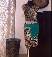 Used Roberto Cavalli Dress Animal Print  in Dubai, UAE