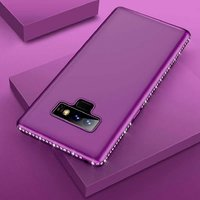Used Dark purple color Samsung Note 9 cover in Dubai, UAE