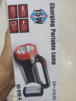 Used Charging Portable Lamp, packed 👌👌👌 in Dubai, UAE