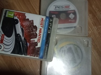 Used Ps3 pes 2007+need for speed most wanted+ in Dubai, UAE