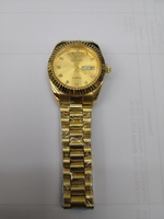 Used Luxstar Watch with Golden Dial in Dubai, UAE