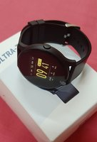 Used Unisex Smart watch black ! in Dubai, UAE