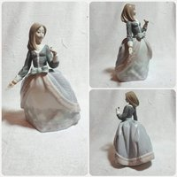 Used Lladro porcelain Cinderella with umbrell in Dubai, UAE