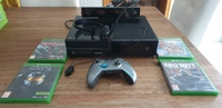 Used X Box One with games, connect and headse in Dubai, UAE