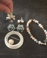 Authentic fresh water pearl collection