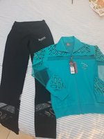 Used NEW Sport Set cotton never worn in Dubai, UAE