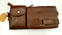 Leather Waists pack Phone pouch Bag