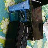 Used Versace Man Gift Set 100ml Perfumed Bath And Shower Gel+ 100 Ml Edt+ Pouch Bag in Dubai, UAE
