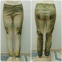 Used Longpants Tiger Print Available Sizes Sm in Dubai, UAE