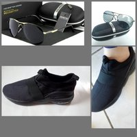 Used Sneakers size(41)+ HD crafter sunglasses in Dubai, UAE
